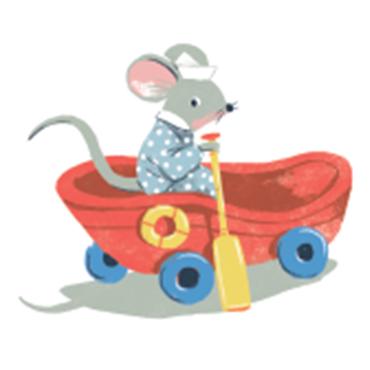 L'histoire du petit rat Contin qui prenait souvent la nuit pour du gruyère