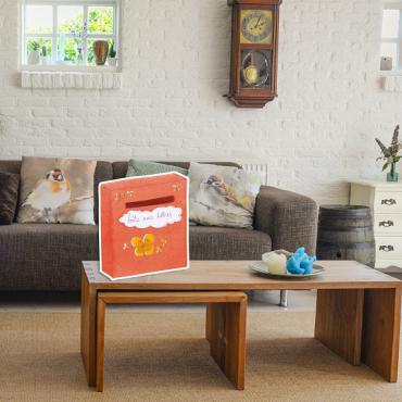 Activités en famille : Construire une boîte aux lettres familiale