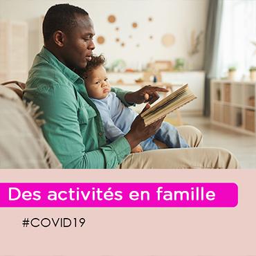 iCovid-19 : comment occuper vos enfants ? (0-3 ans)