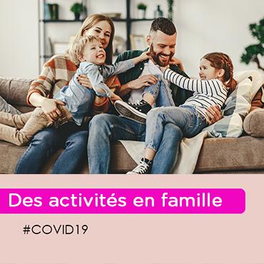 iCovid-19 : comment occuper vos enfants ? (3-6 ans)