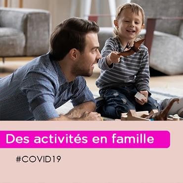 iCovid-19 : comment occuper vos enfants ? (6-10 ans)