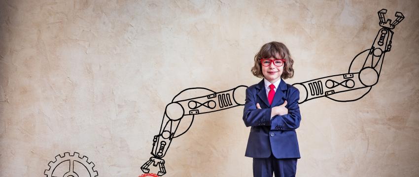 Jouer au robot pour aider son enfant en maths