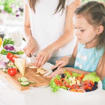 Cuisiner en famille : les amuse-bouches colorés
