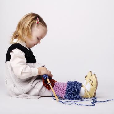 Le tricot pour éveiller les intelligences de mon enfant
