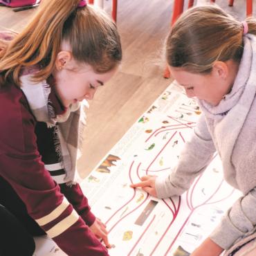 iActivité Montessori : réaliser une frise chronologique