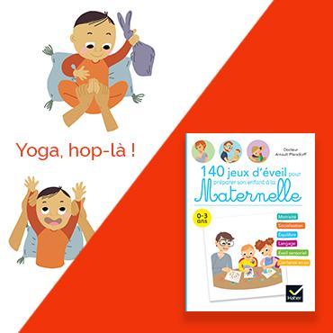 Jeu d'éveil : Yoga hop-là !